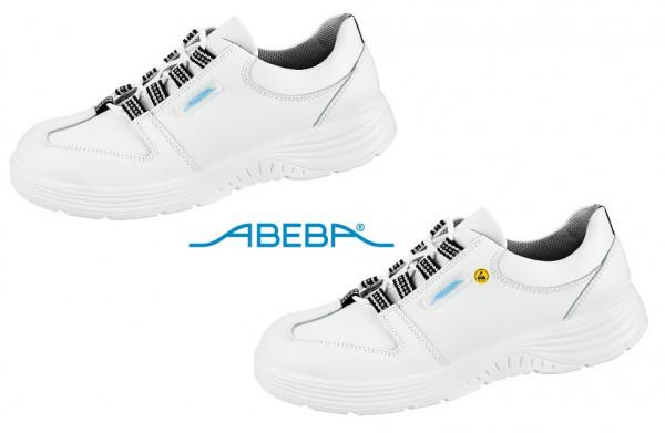 ABEBA X-Light 711033|7131033 ESD Sicherheitsschuh S2 Halbschuh Küchenschuh Arbeitsschuh weiß