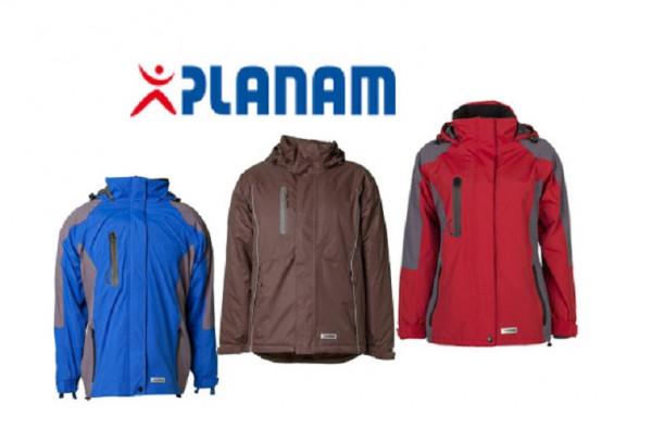 Planam Shape Damen 3-in-1 Jacke Größe XS - XXXL in 3 Farben
