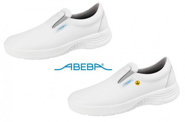 ABEBA X-Light 711032 7131032 ESD Sicherheitsschuh S2 Halbschuh Stahlkappe Küchenschuh Arbeitsschuh weiß