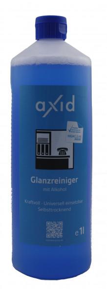 Axid - Glanzreiniger mit Alkohol 1 Liter Flasche (ehemals Clearfixxx)