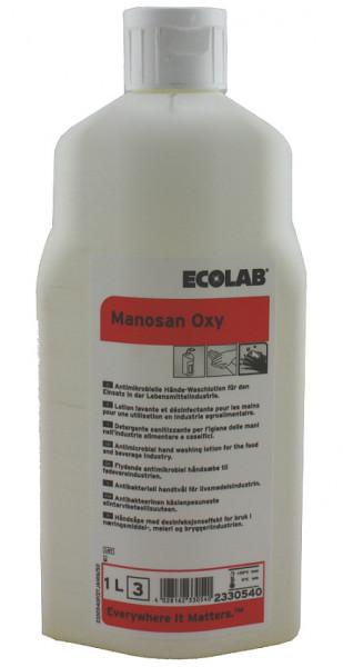 Ecolab - Manosan Oxy Handreiniger 12 x 1L - 2259190/2330540 (P3 Monasan)