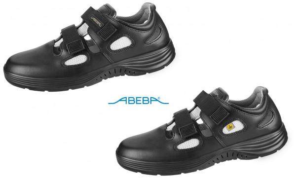 ABEBA X-Light 711136|7131136 ESD Berufsschuh Sandale Arbeitsschuh Arztschuh schwarz