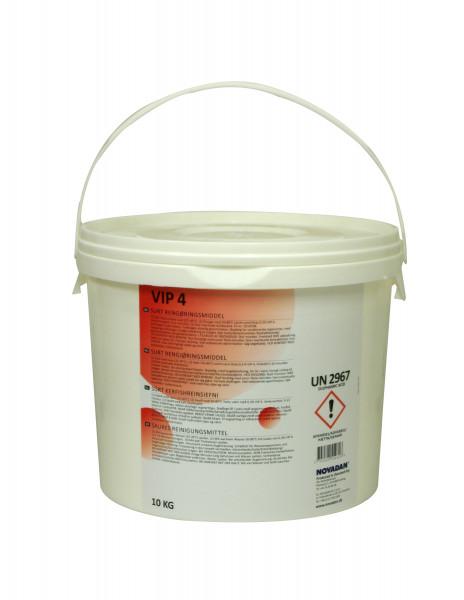 Novadan - VIP 4 sauer 10 Kg Eimer schäumendes Desinfektionsmittel