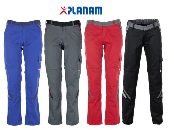 Planam Highline Damen Bundhose Größe 34 - 54, in 4 Farben
