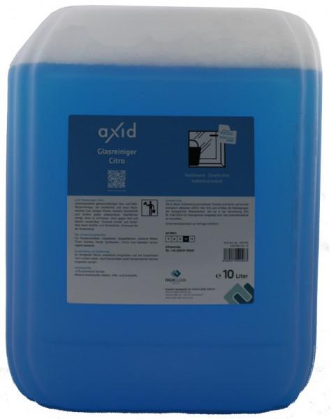 Axid - Glasreiniger Citro 10L Kanister (ehemals Clearfixxx)