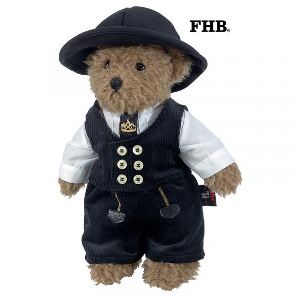 FHB Eddy Zunftteddy klein Teddy ORIGINAL BIELEFELDER ZUNFT Genua-Cord 35 cm