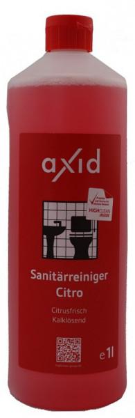 Axid - Sanitärreiniger Citro 1L Flasche (ehemals Clearfixxx)