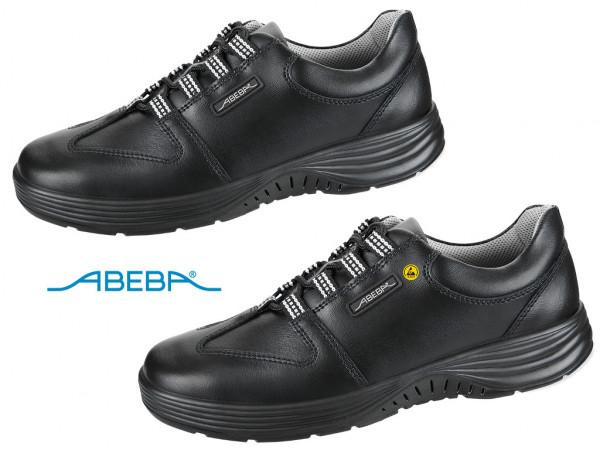 ABEBA X-Light 711874|7131874 ESD Sicherheitsschuh S3 Schnürschuh Arbeitsschuh Bauschuh schwarz