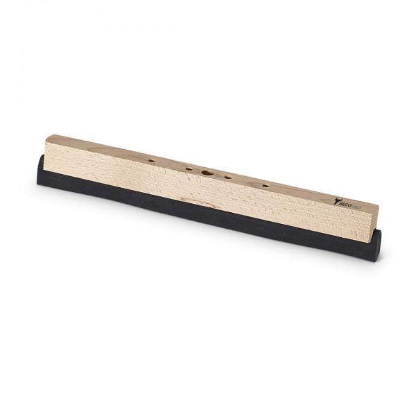 Nölle - Beco® Holz-Wasserschieber mit doppelten Schaumgummistreifen