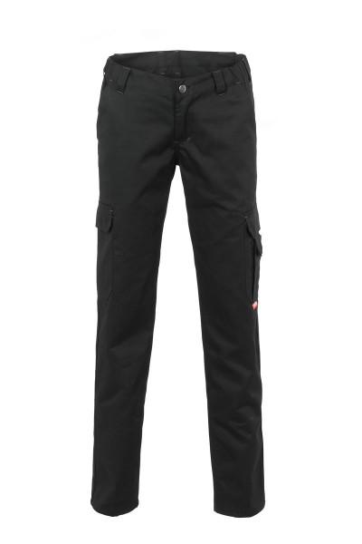 Planam Casual Easy Damen Bundhose Größe 34 - 54, in schwarz