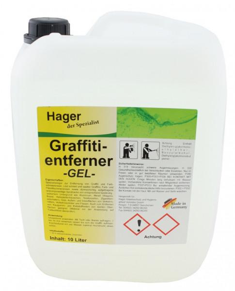 Spezialreiniger Graffitientferner Gel 10 Liter Kanister