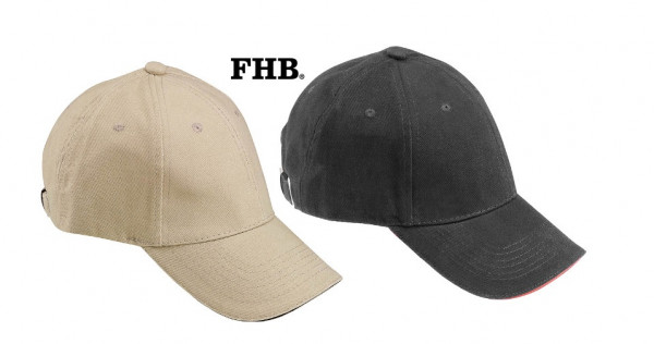 FHB Udo Cap 100% Baumwolle 91190 Basecape, in 2 Farben