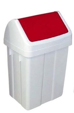 Meiko - Schwingdeckeleimer 12 Liter rot - 938148