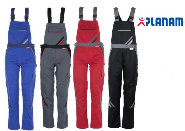 Planam Highline Damen Latzhose Größe 34 - 54, in 4 Farben