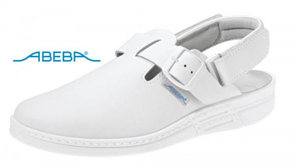 ABEBA Original 7208 Berufsschuh Clog weiß
