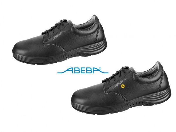 ABEBA X-Light 711027 7131027 ESD Sicherheitsschuh S2 Halbschuh Stahlkappe Küchenschuh Arbeitsschuh schwarz