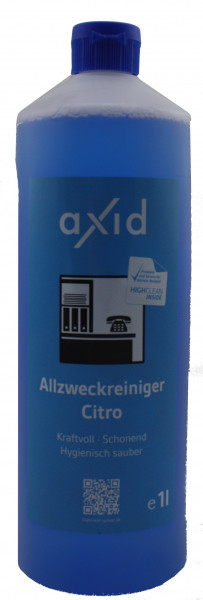 Axid - Allzweckreiniger Citro 1L Flasche (ehemals Clearfixxx)