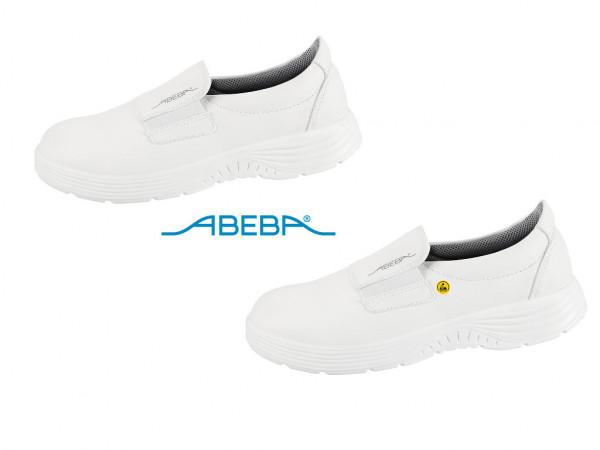ABEBA X-Light 711028|7131028 ESD Sicherheitsschuh S2 S2 Halbschuh Küchenschuh Arbeitsschuh weiß