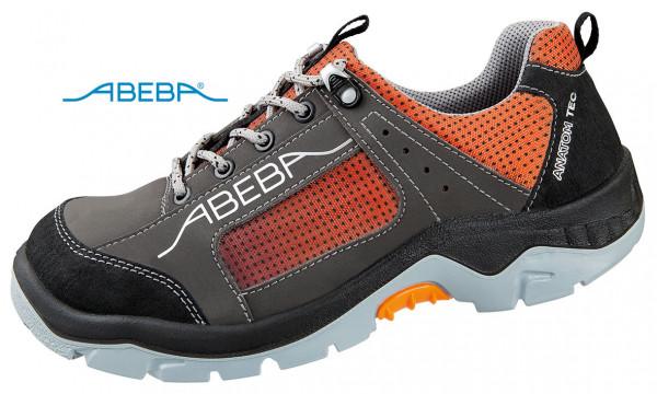 ABEBA Anatom 2257 32257 Sicherheitsschuh S3 ESD Halbschuh Arbeitsschuh orange