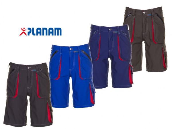 Planam Basalt Shorts kurze Arbeitshose Größe S - 4XL, in 4 Farben