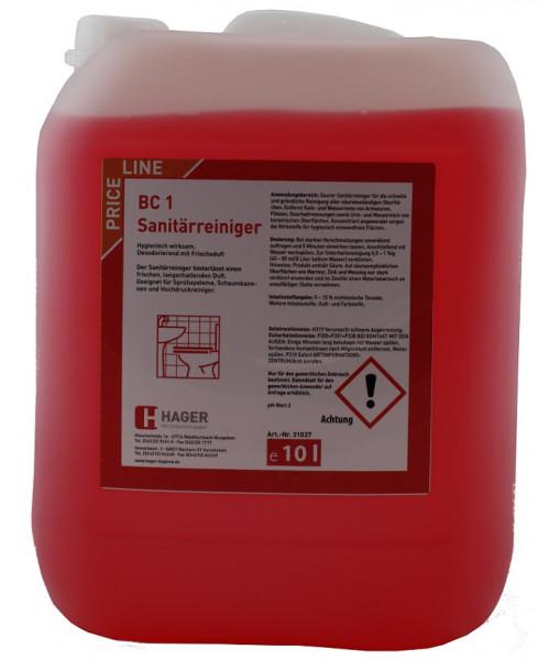 BC 1 Sanitärreiniger 10 Liter