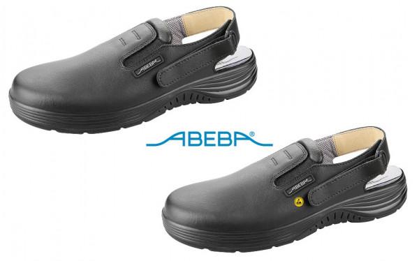 ABEBA X-Light 711035|7131035 ESD Sicherheitsschuh Clog Stahlkappe Küchenschuh Arbeitsschuh schwarz