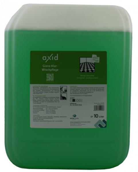 Axid - Glanz-Klar Wischpflege 10L Kanister (ehemals Clearfixxx)