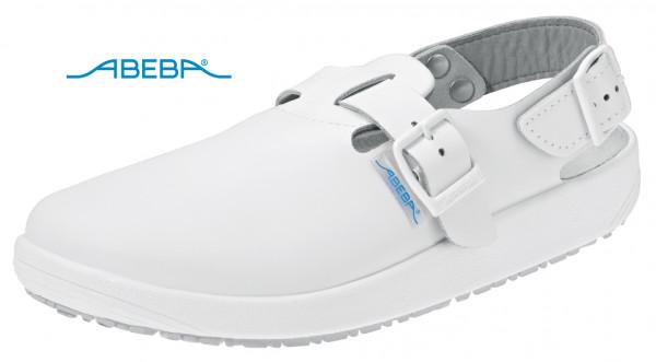 ABEBA Rubber 9100 Clog Berufsschuh Arbeitsschuh weiß