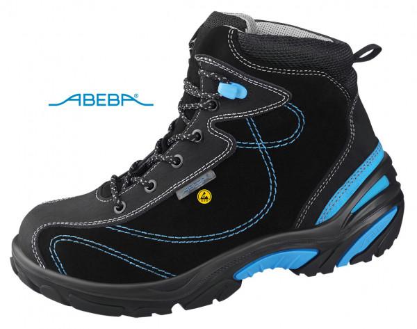 ABEBA Crawler Stahl 4651|34651 ESD Sicherheitsschuh S2 Stiefel Arbeitsschuh Bauschuh schwarz