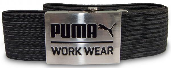 Puma Workwear Flechtgürtel Arbeitsgürtel Schwarz Größe 95 - 135 cm