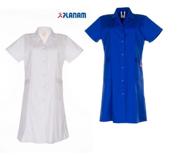 Planam Damen Berufsmantel Mischgewebe 1/4 Arm Größe 34 - 54, in 2 Farben