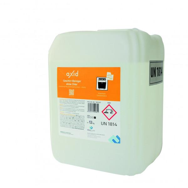 Axid Geschirrspülmaschinen- Geschirrreiniger ohne Chlor 10 Liter