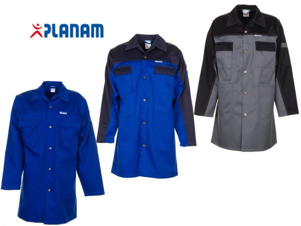 Planam Tristep Berufsmantel Arbeitskittel Werkstattkittel Größe 24 - 114, in 3 Farben