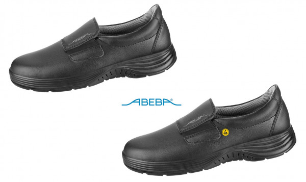 ABEBA X-Light 711129|3711129 ESD Berufsschuh Slipper Küchenschuh Arbeitsschuh schwarz
