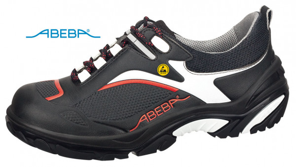 ABEBA Crawler Alu 4502|34502 ESD Sicherheitsschuh S2 Halbschuh Kochschuh Küchenschuh schwarz