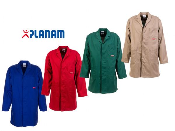 Planam MG290 Berufsmantel Arbeitskittel Werkstattkittel Größe 24 - 110, in 4 Farben