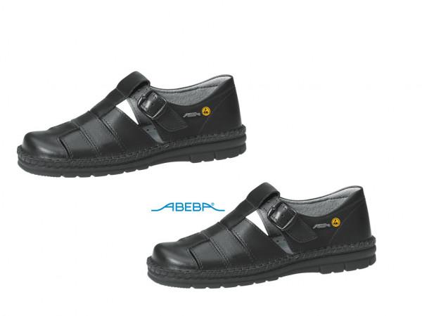 ABEBA Reflexor Berufsschuh Arbeitsschuh schwarz 6610 | 36610 ESD