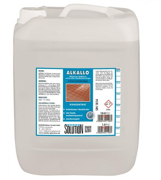 SOLUTION Glöckner - Alkallo Kalkentferner 10 Liter Kanister