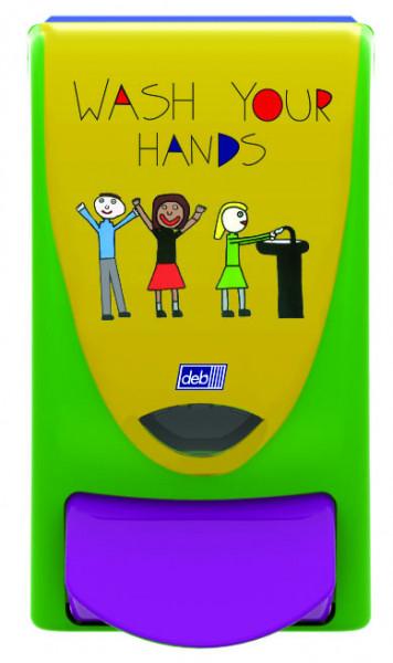 Deb® Kids Wash Your Hands 1L Spender